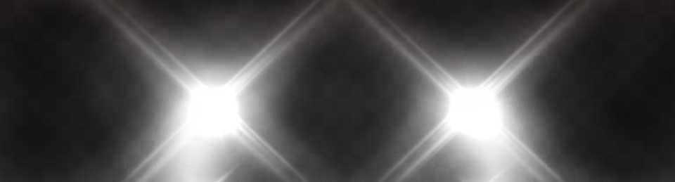 A beam of LED lighting