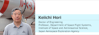 User interview – Professor Keiichi Hori, JAXA