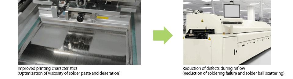 Improved printing characteristics