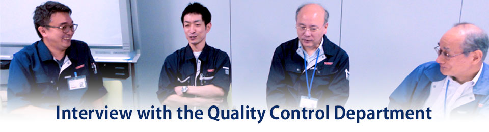 "Interview with the Quality Control Department that underpins Thinky products' ""safety and security"""