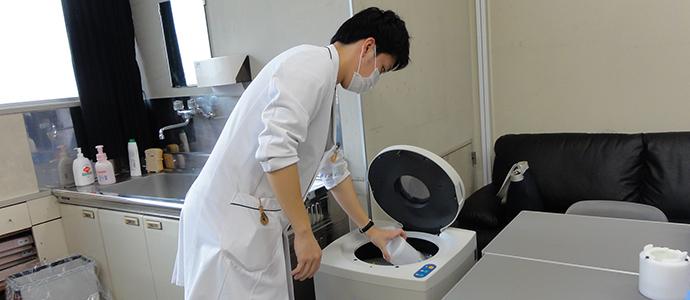 徳山中央病院調剤の様子