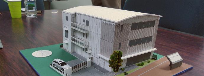 ジャパンプローブ様 新家屋模型