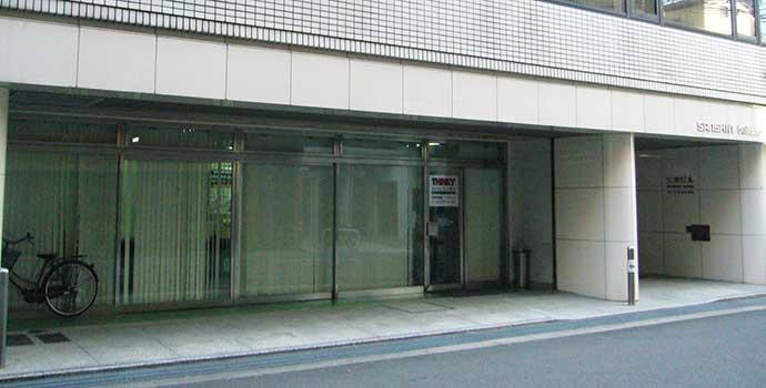現在の大阪営業所外観