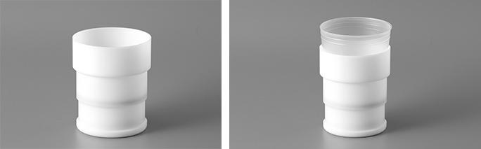 500mlディスポーザブル容器+専用アダプター