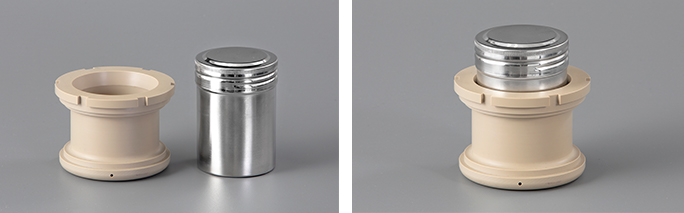 150mlステンレス容器+耐熱アダプター