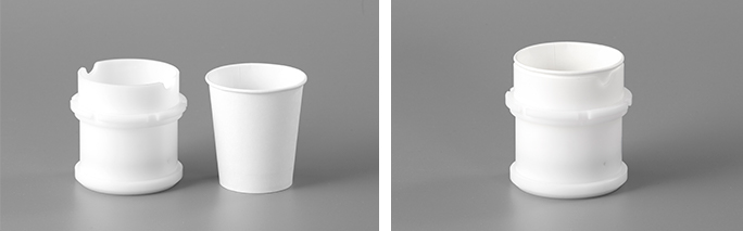 紙コップ用アダプター